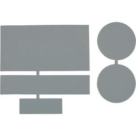 CAMPZ Reperationslapper i nylon 5 stk., grå
